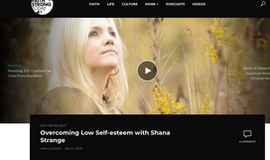 Why Me Podcast- Interview with  Shana Strange About Overcoming Low Self Esteem