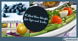 30 Must have Weight Loss Tips and Tricks