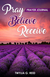 Pray Believe Receive Prayer Journal (His/Hers)