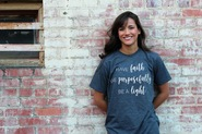 Live Purposefully Unisex Tultex Soft T-Shirt