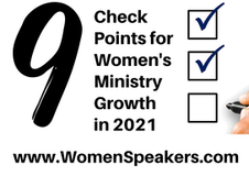 9 Check Points for Women's Ministry Growth in 2021