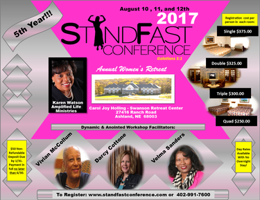 Annual StandFast Women's Conference