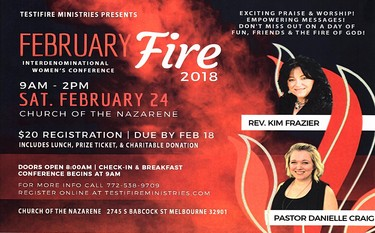February Fire 2018 Women's Conference