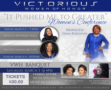 Victorious Women of Honor Women's Conference