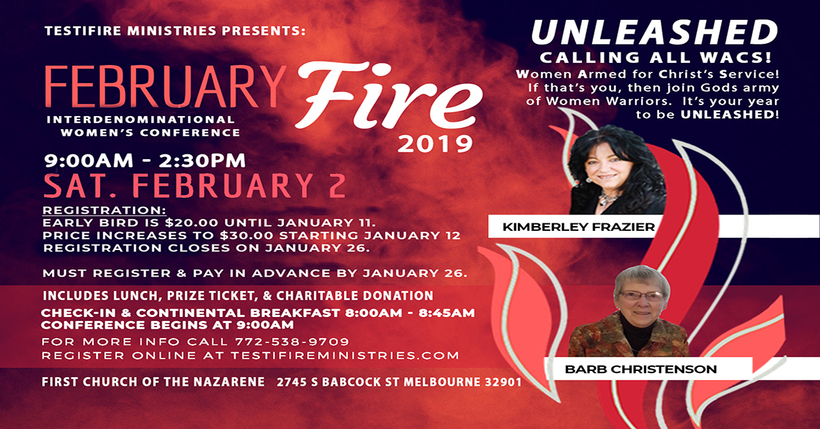 February Fire Women's Conference - UNLEASED!