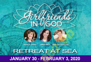Girlfriends in God Retreat at Sea