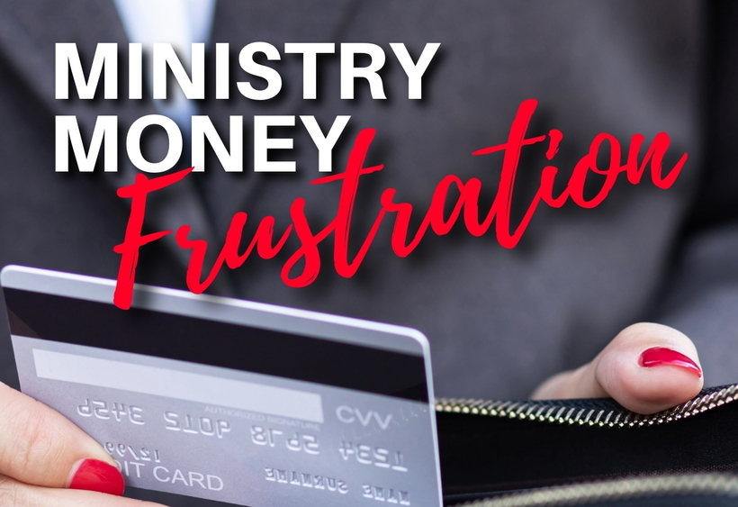 Ministry Money Frustration