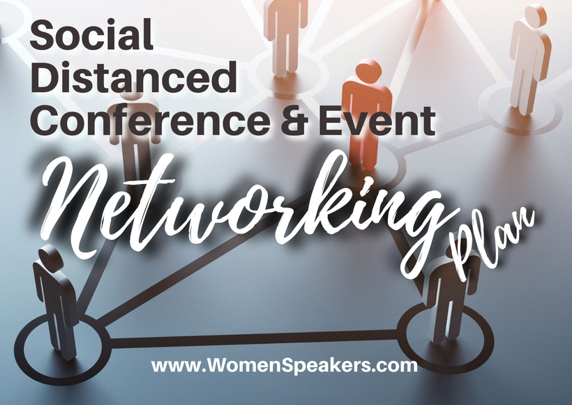 Social Distanced Conference Event Networking Plan